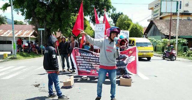 Hari Buruh, Mahasiswa di Palopo Tuntut Penghapusan JKN dan Outsourcing