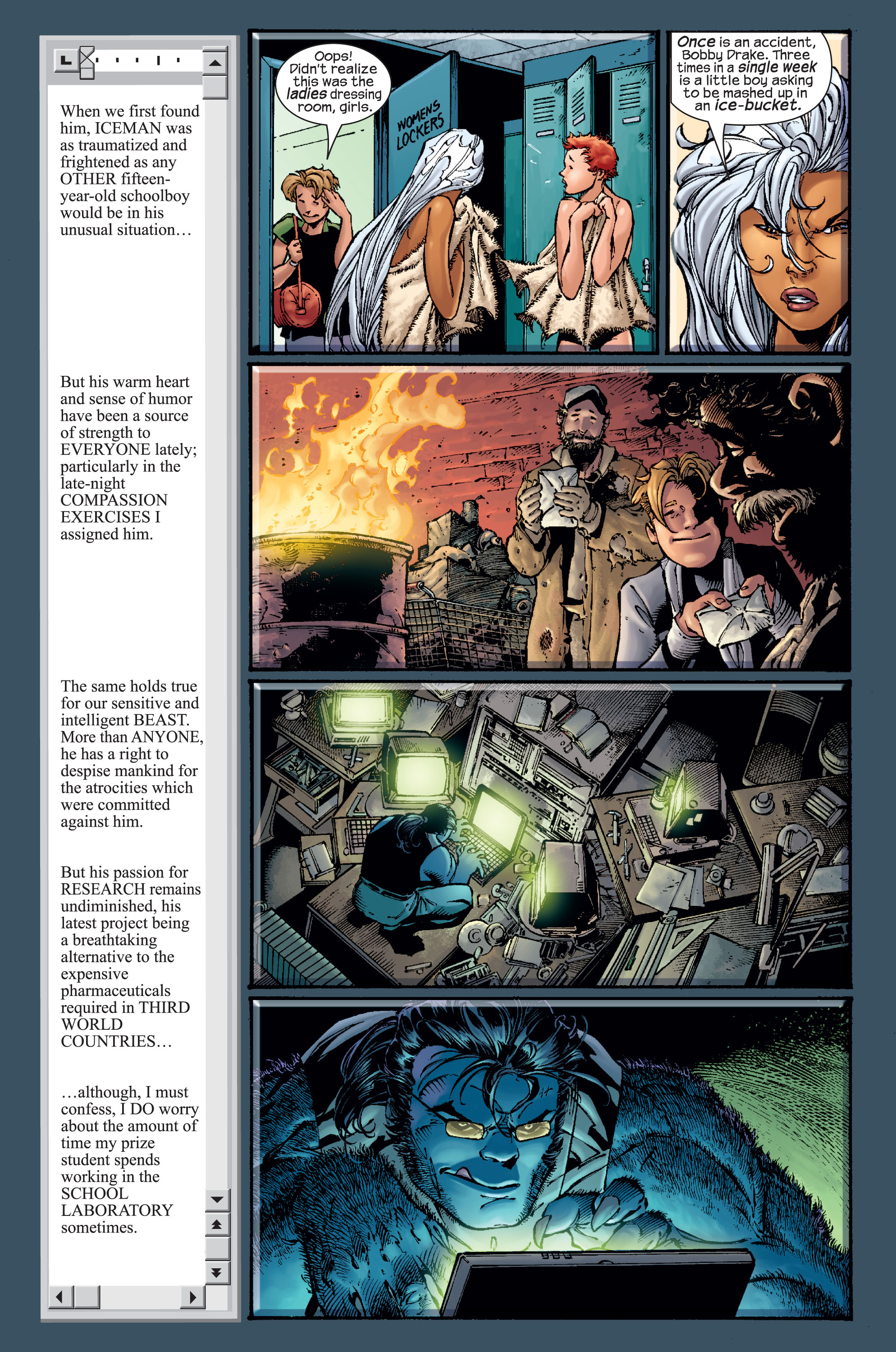 Read online Ultimate X-Men comic -  Issue #15 - 10