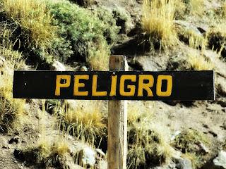 Placa de Perigo, Parque Provincial Aconcagua, Mendoza