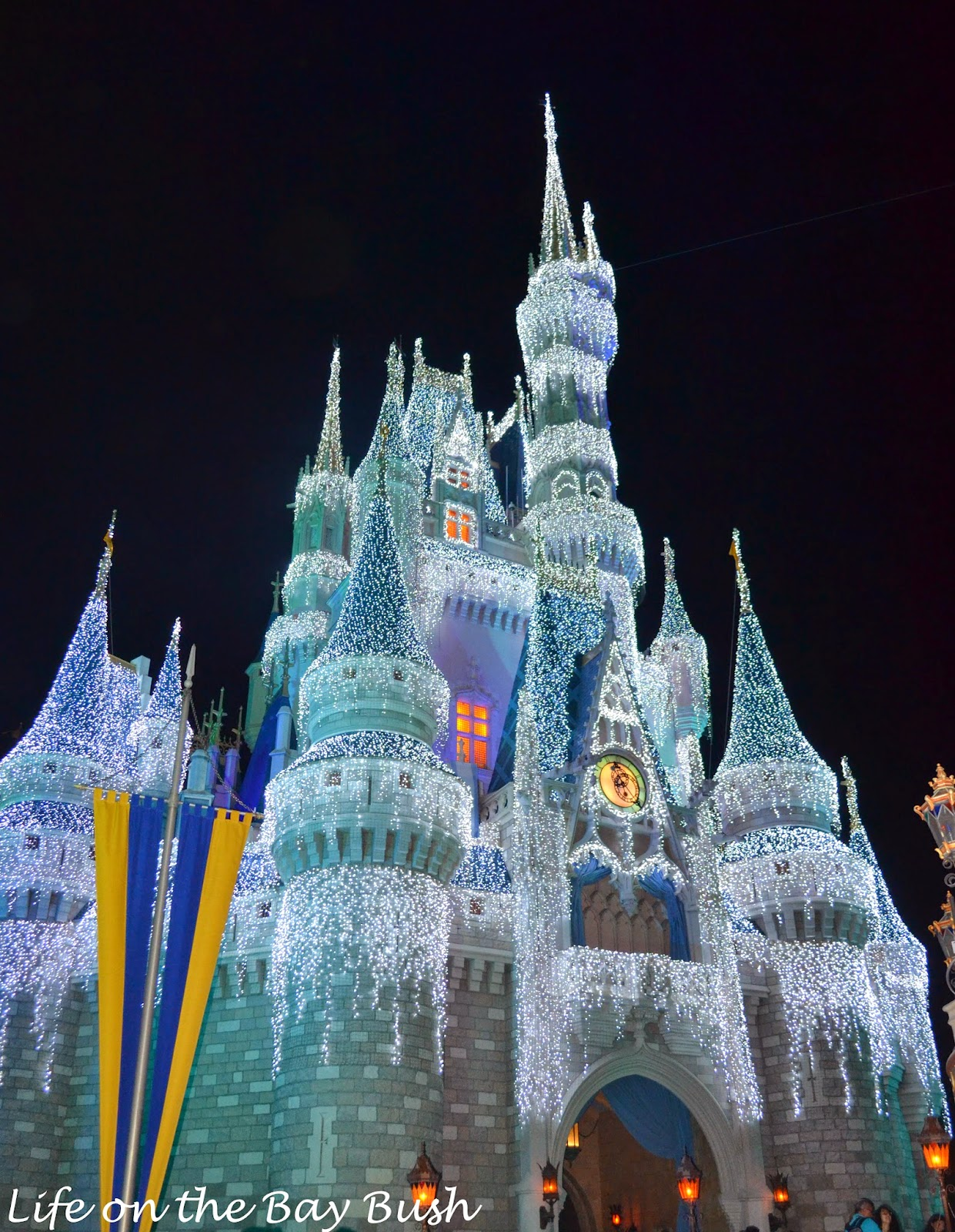 Iced out Castle at the Magic Kingdom