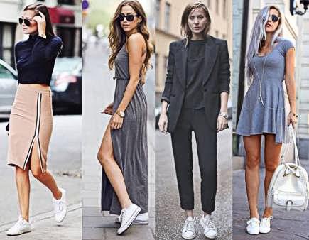 blog-todamenina-look com tenis- tá na moda-tenis branco