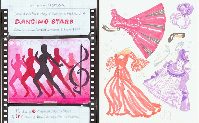 Dancing Stars Paper Doll Book