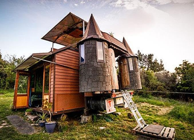 Tiny Home Designs: The Flying Tortoise: Another Amazingly Creative New