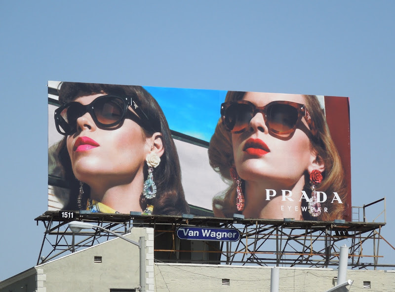 Prada Eyewear 2012 billboard
