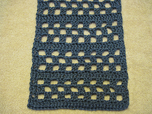 Nogrinchhere Nogrinchs Double Crochet Scarf