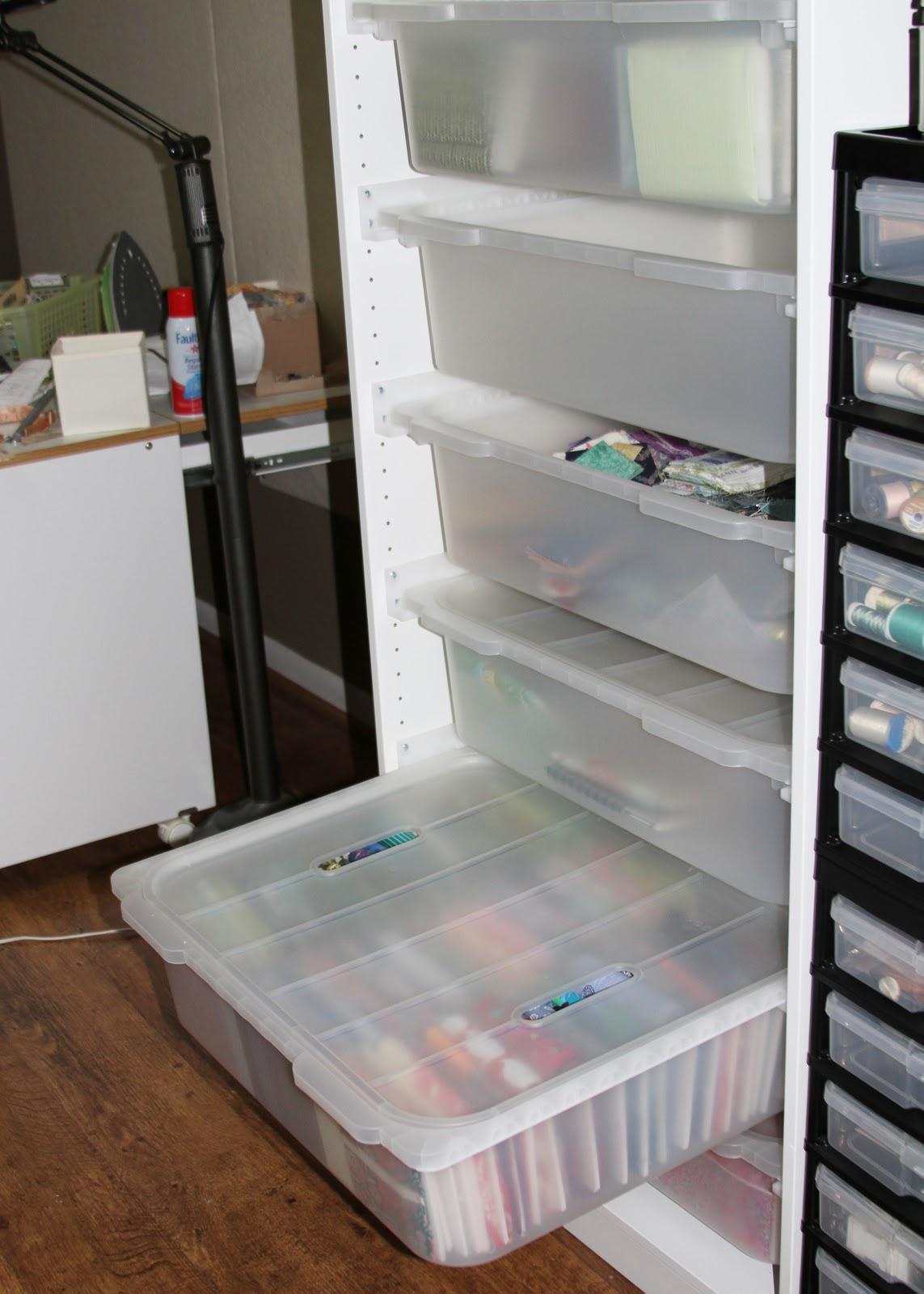 My Fabric Storage Solution