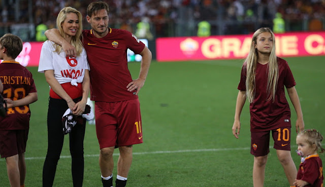 Totti dan keluarga