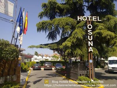 Hotel Osuna - Entrada - https://hoteisreclamacoeseopinioes.blogspot.com