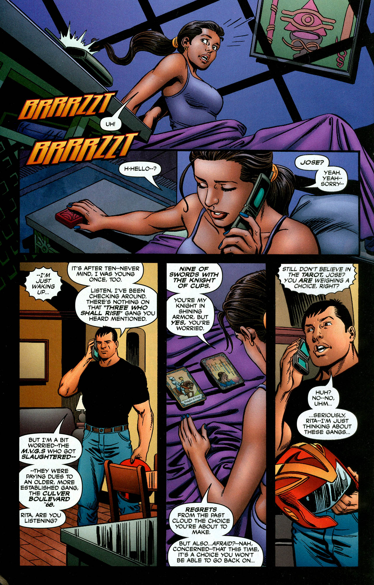 Read online Trinity (2008) comic -  Issue #4 - 28