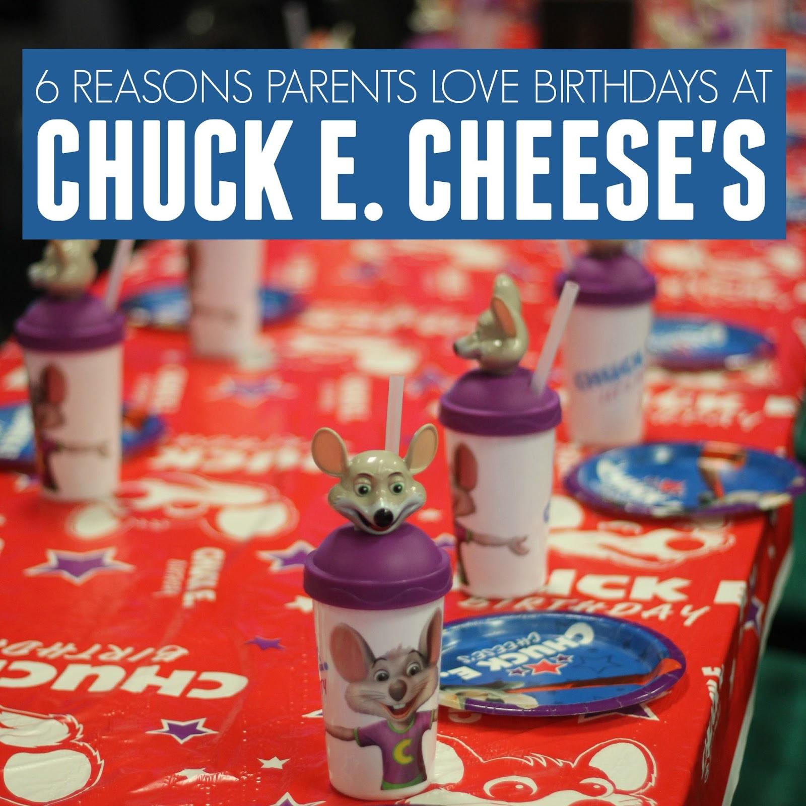 Chuck e cheese party deals
