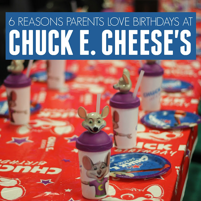 Toddler Approved!: 6 Reasons To Love Chuck E. Cheese's