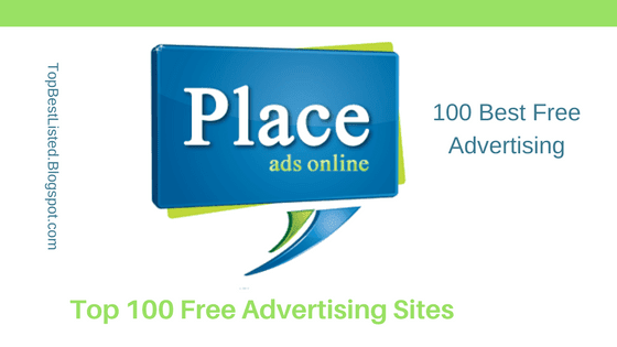 100 Best Free Advertising sites to post ads online-560x315