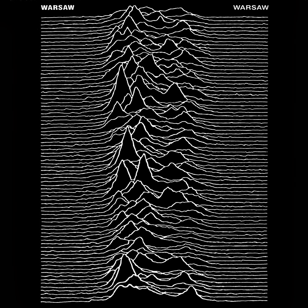 Joy Division Album Cover