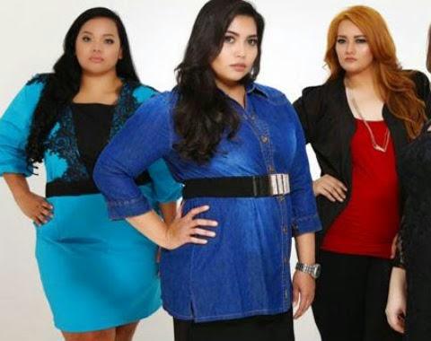 contoh baju kantor orang gemuk