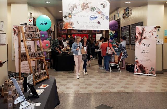 Etsy Laval: un sympathique marché printanier