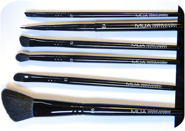 A picture of my  Makeup Academy MUA Makeup Brushes