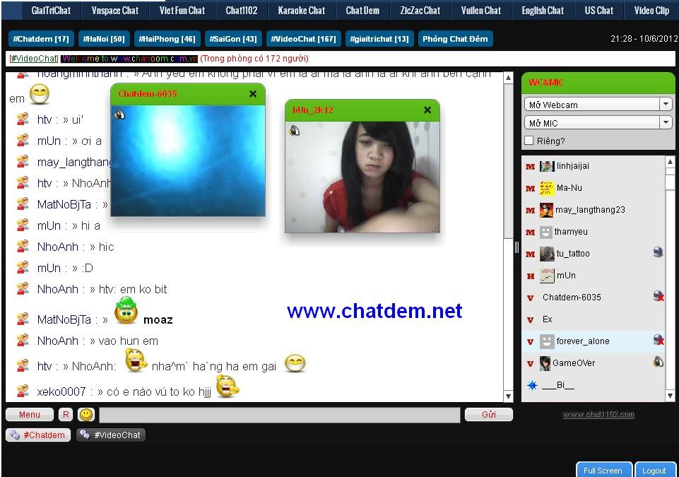 Yume phong chat VietFun ChatRoom!
