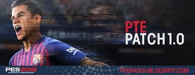 PES 2019 PTE Patch 2019 1.0 AIO Season 2018/2019