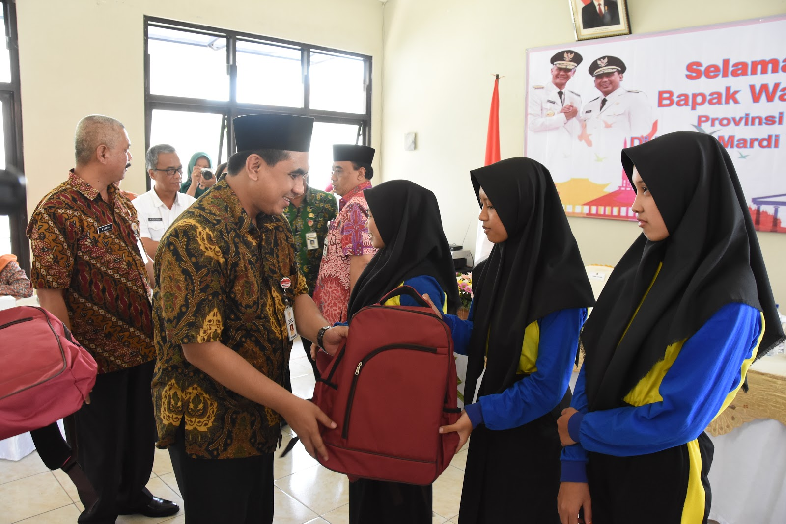 Wagub Jateng Beri Motivasi Anak-Anak RPSA Mardi Yuwono