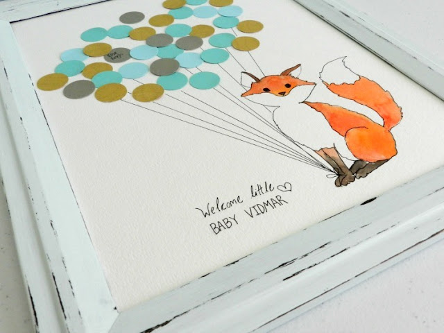 Baby Fox Guest Book
