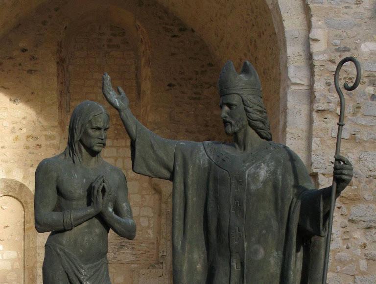 Batismo de Clovis por São Remígio, Reims