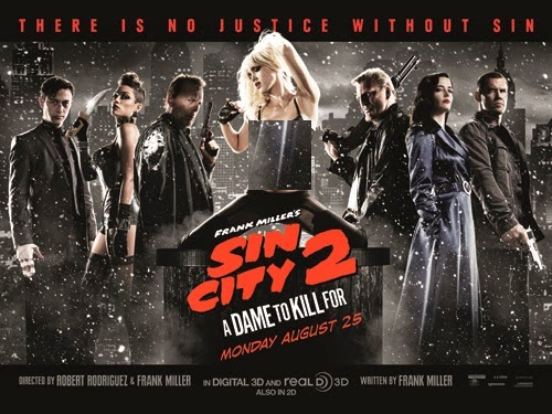 Sin City A Dame to Kill For 2014 Official Trailer HD 720p