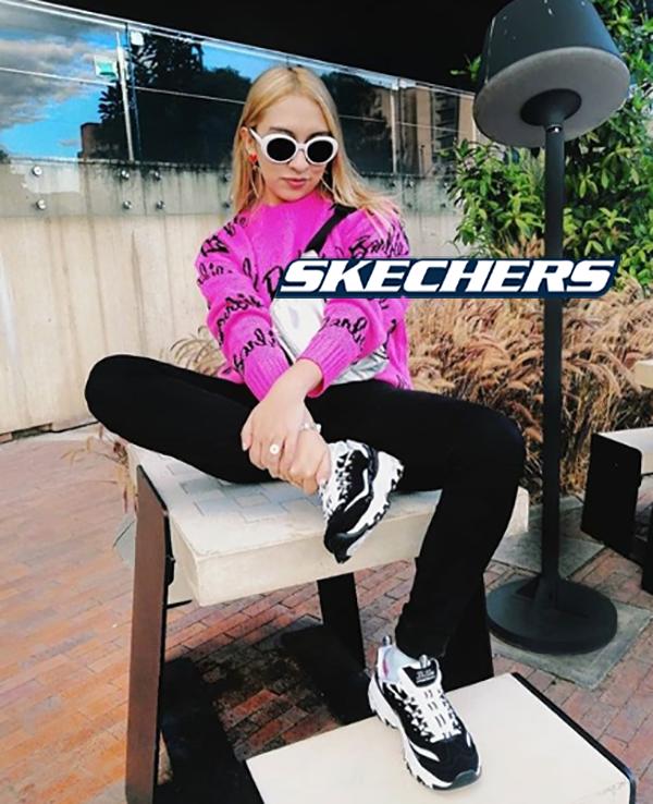 mujeres-tacones-tenis-Skechers-Colombia-tendencias