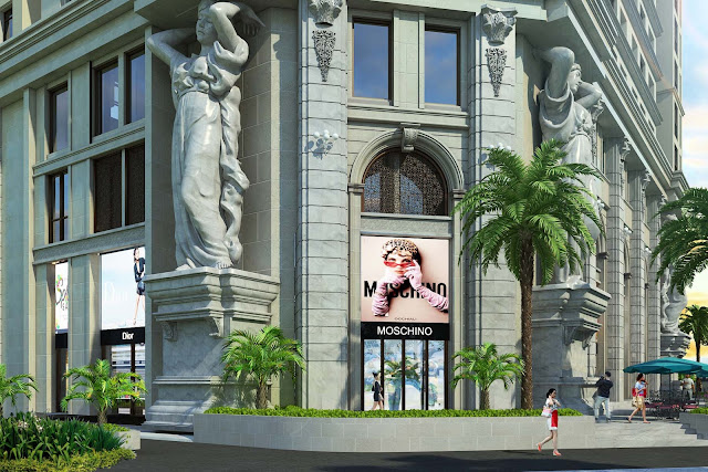 D'.El Dorado 2 được xây dựng với phong cách tân cổ điển