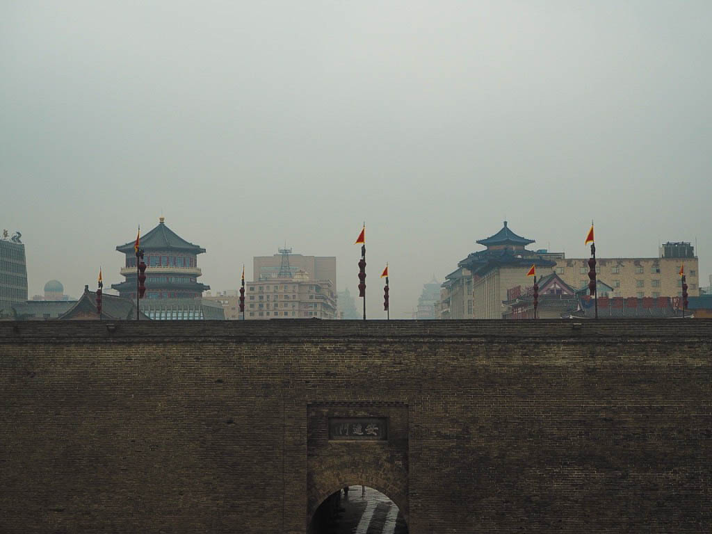 Xi'an City Walls in China