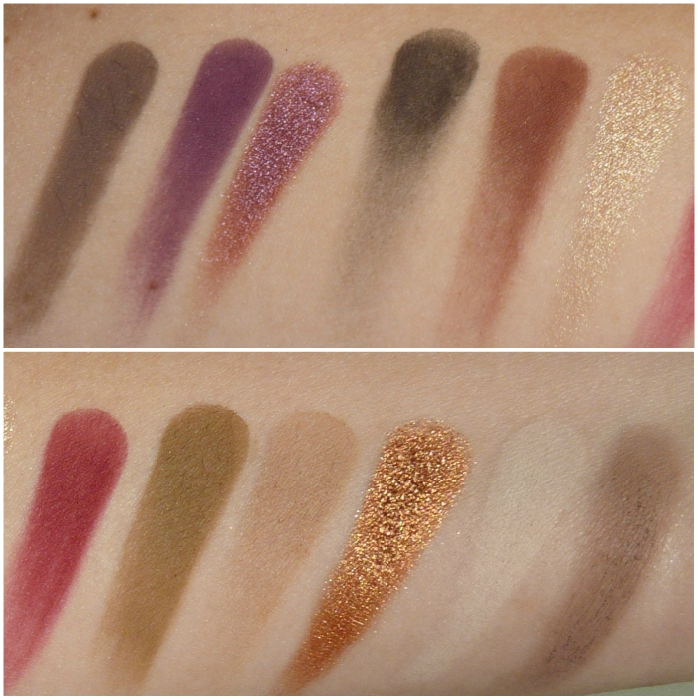 swatches all shades