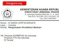 Syarat dan Jadwal Pendaftaran Bantuan Beasiswa PTKI Tahun 2019
