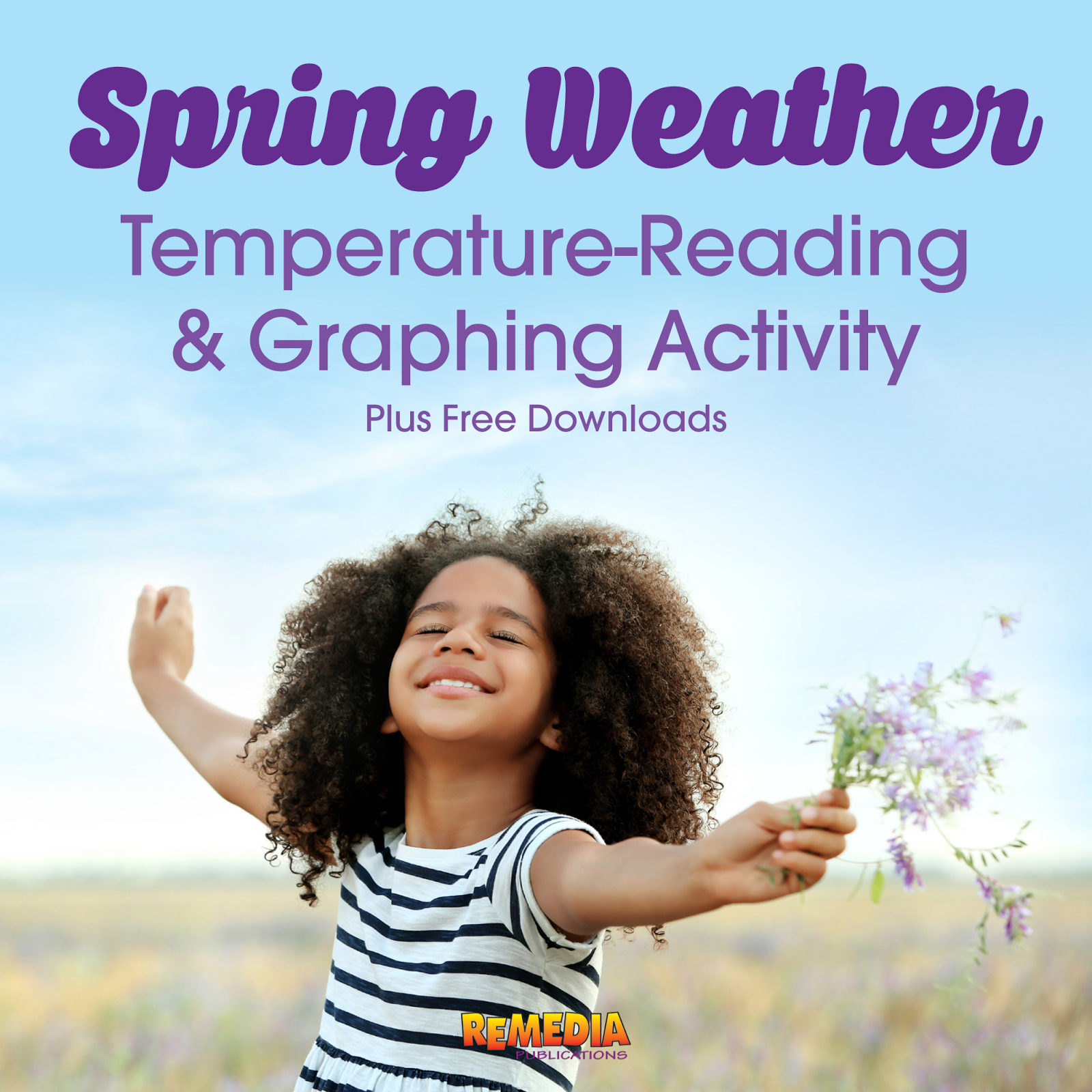 Remedia Publications Spring Weather Temperature Reading