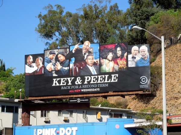 Key & Peele season 2 Comedy Central billboard