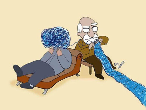 sigmund freud psihanaliza canapea divan