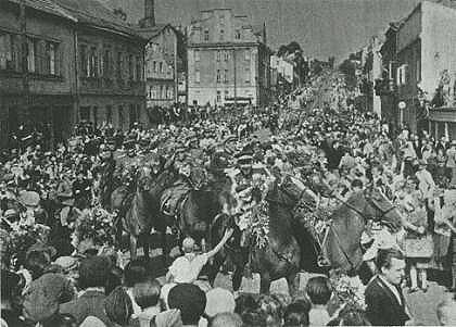 RAudonoji Armija Vilniuje