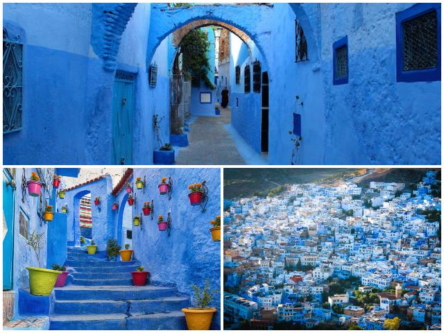 Марокканське місто синього кольору - Чефчауен