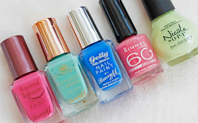 Five Nail Polishes Perfect For Summer | Tea And Beauty