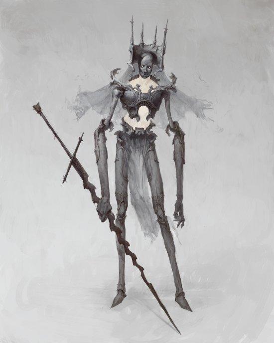 Bogdan Rezunenko artstation arte conceituais ilustrações terror fantasia sombrio infernal