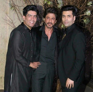 Director Karan Johar has organised the surprise party at a five-star hotel in Mumbai. King Khan was invited