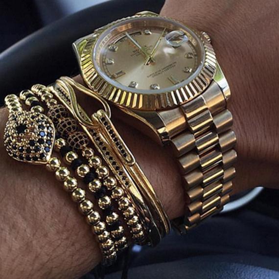 mens bracelet luxury watch gifts