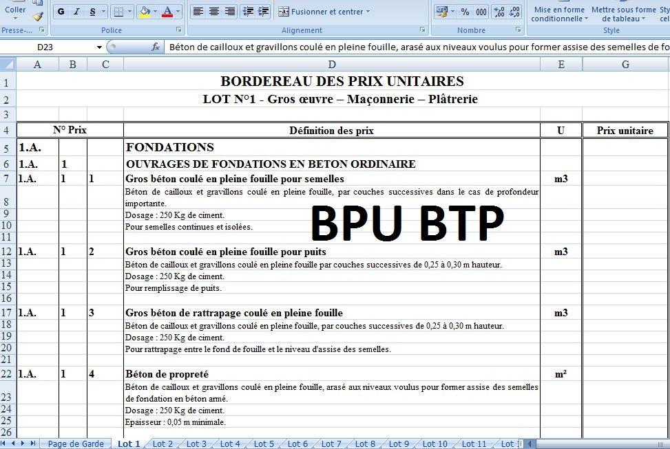 CCTP MAISON GRATUIT TÉLÉCHARGER INDIVIDUELLE