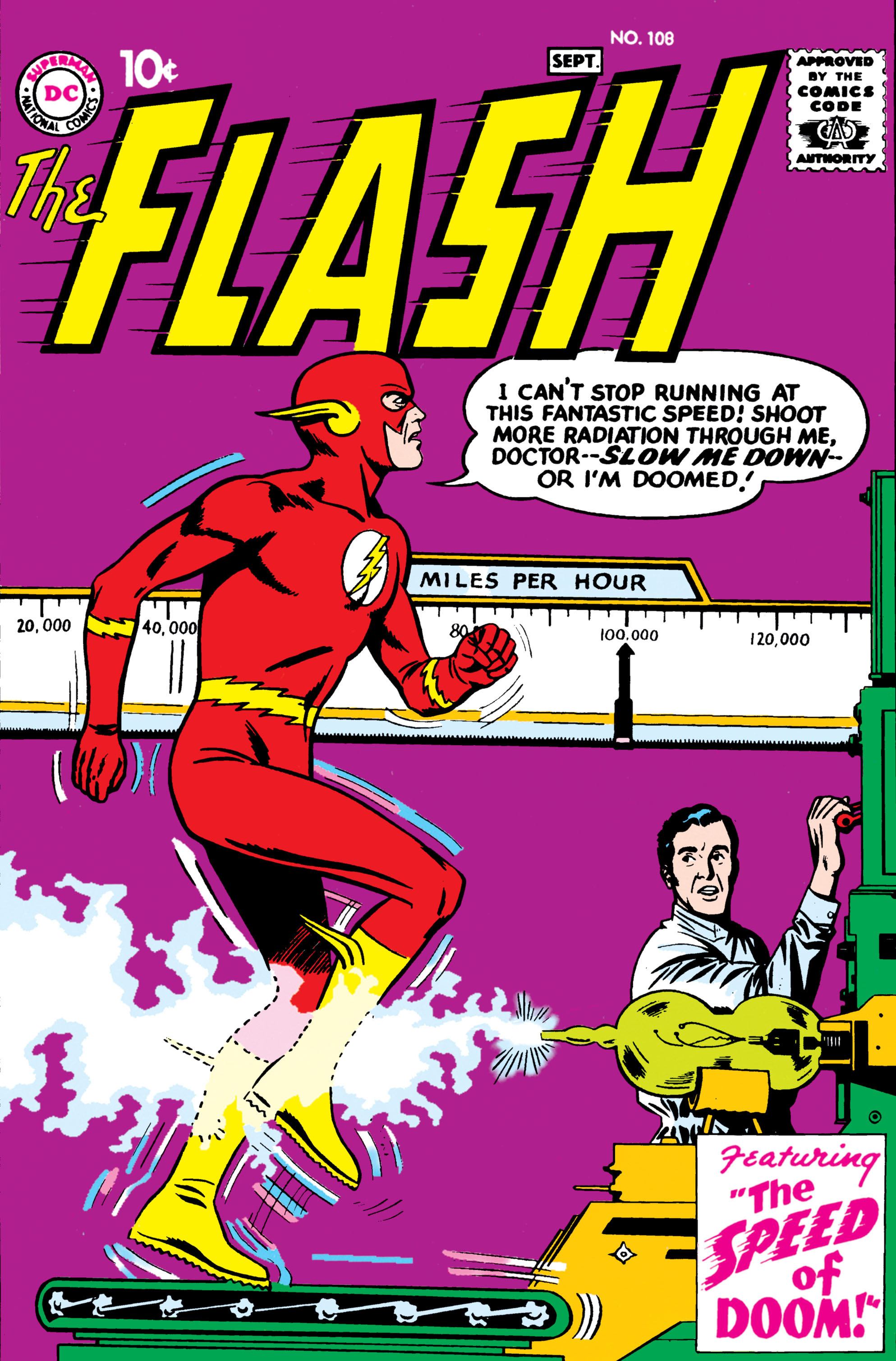 The Flash (1959) 108 Page 1