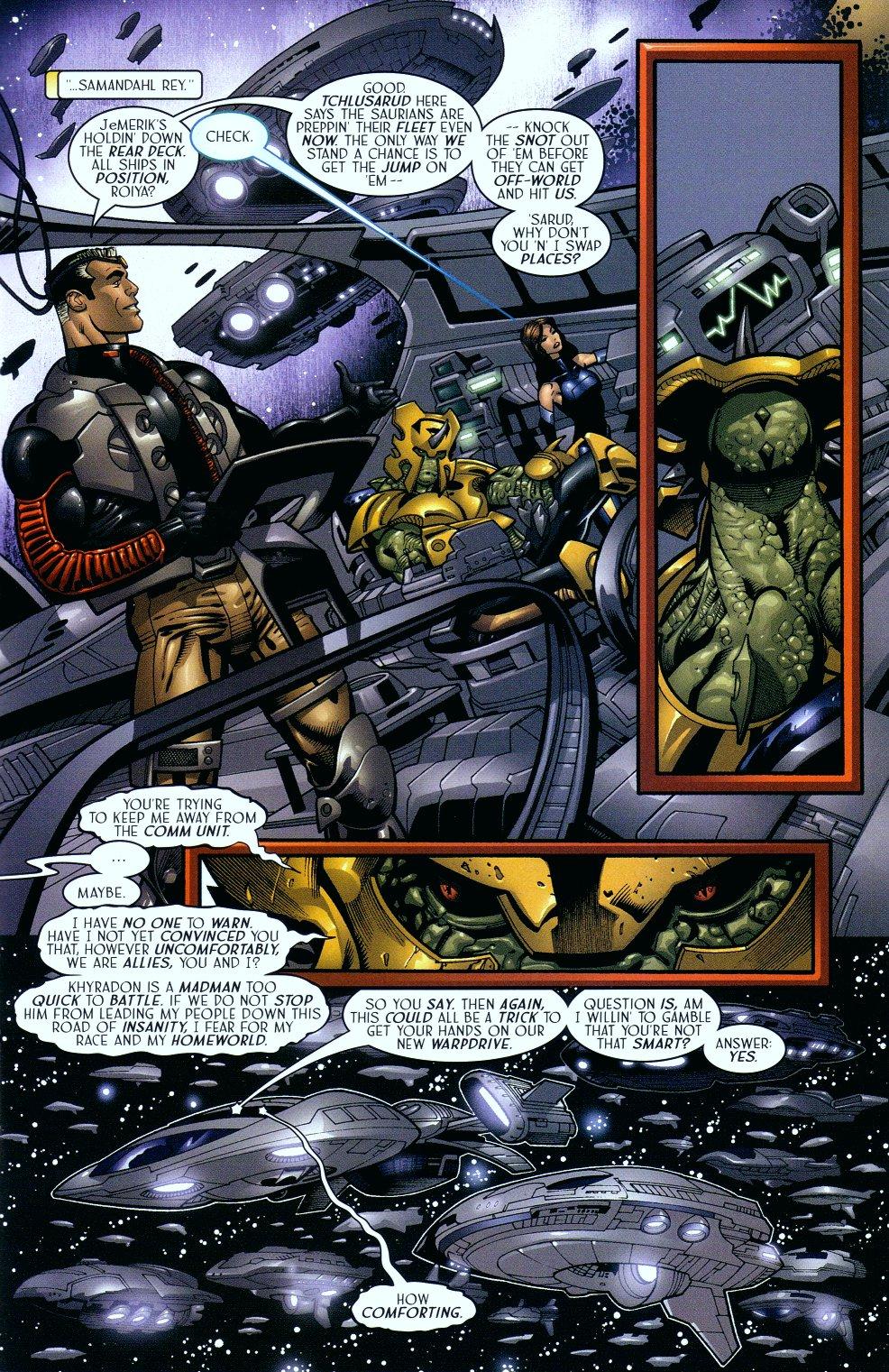 Read online Sigil (2000) comic -  Issue #16 - 6