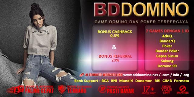Agen Judi Bandar Poker Online Terbaik BdDomino