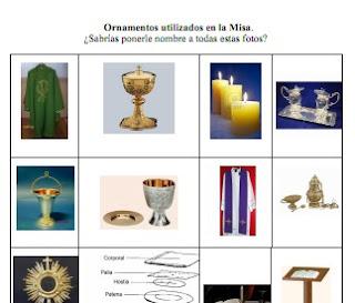 Reli Casas Nuevas Dto Religión Ies Ornamentos Sagrados De La Misa Sabrías Ponerle Nombre