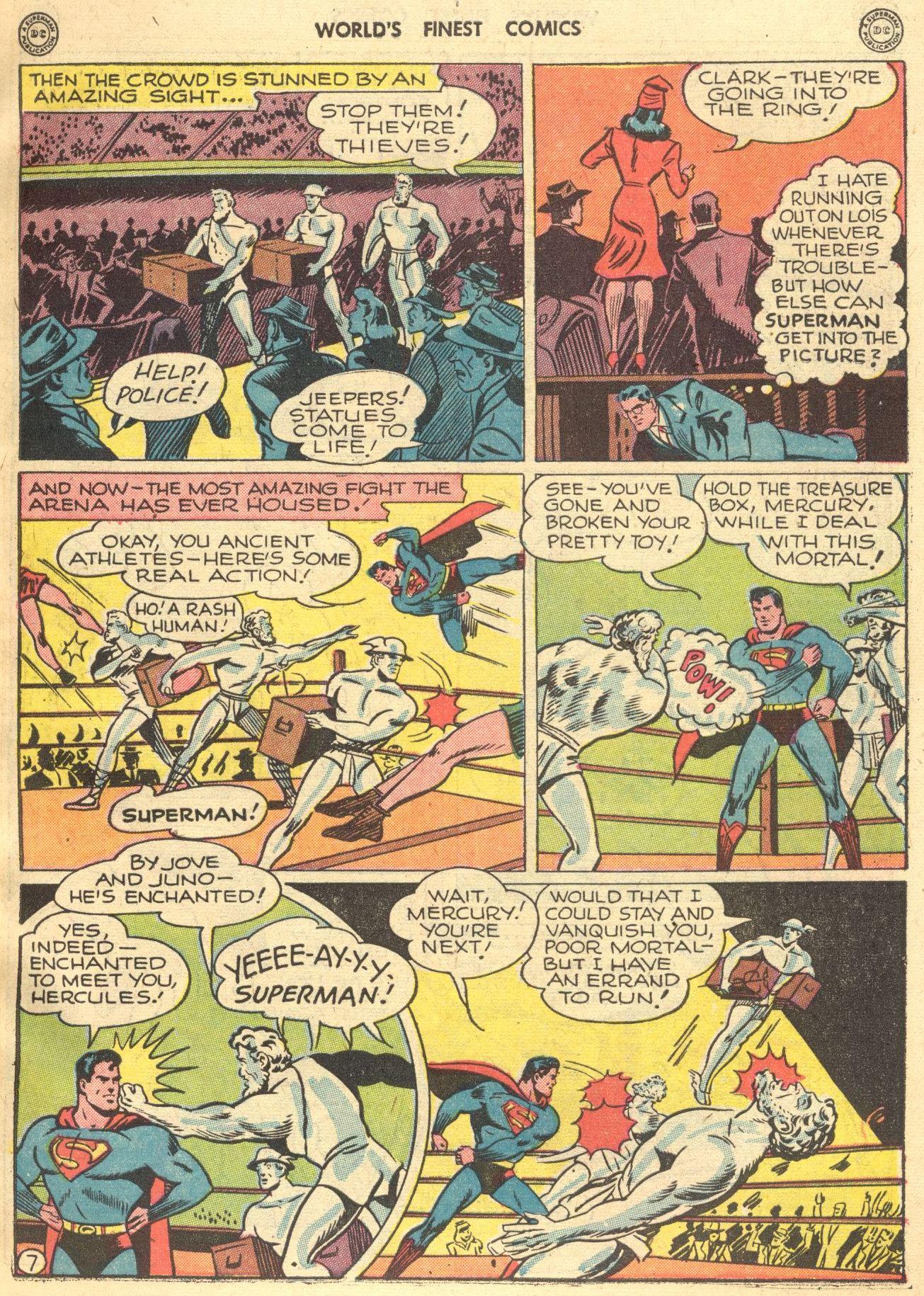 Read online World's Finest Comics comic -  Issue #28 - 8