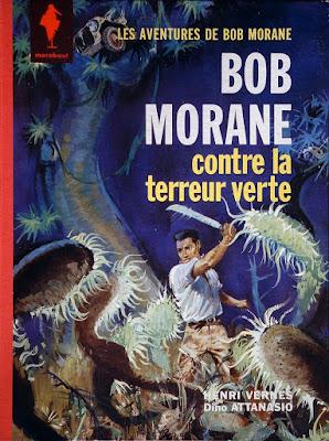 Carte postale Le monde est ton royaume Hib Carte postale Bob Morane Bob Morane
