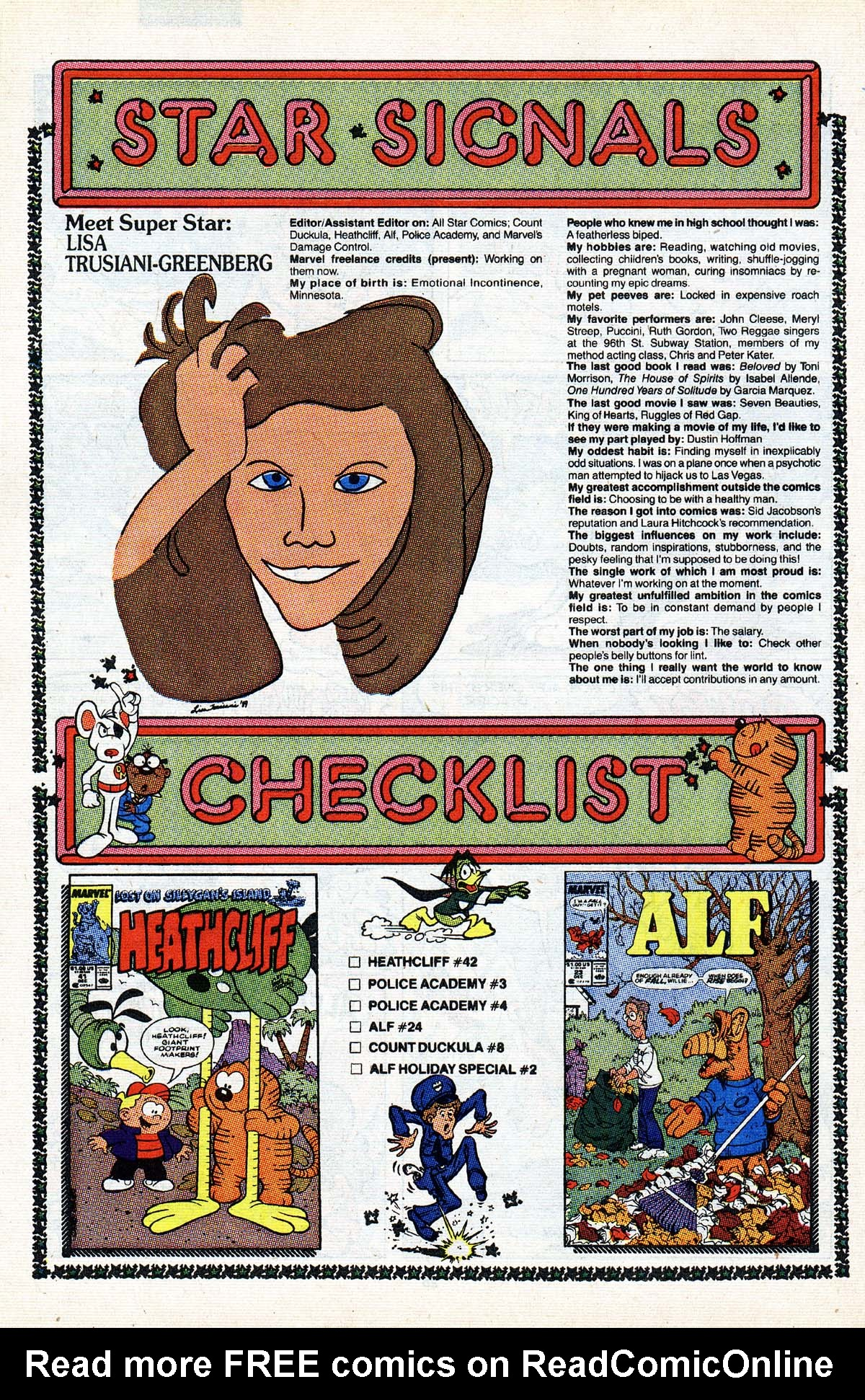 Read online ALF comic -  Issue #2 - 52