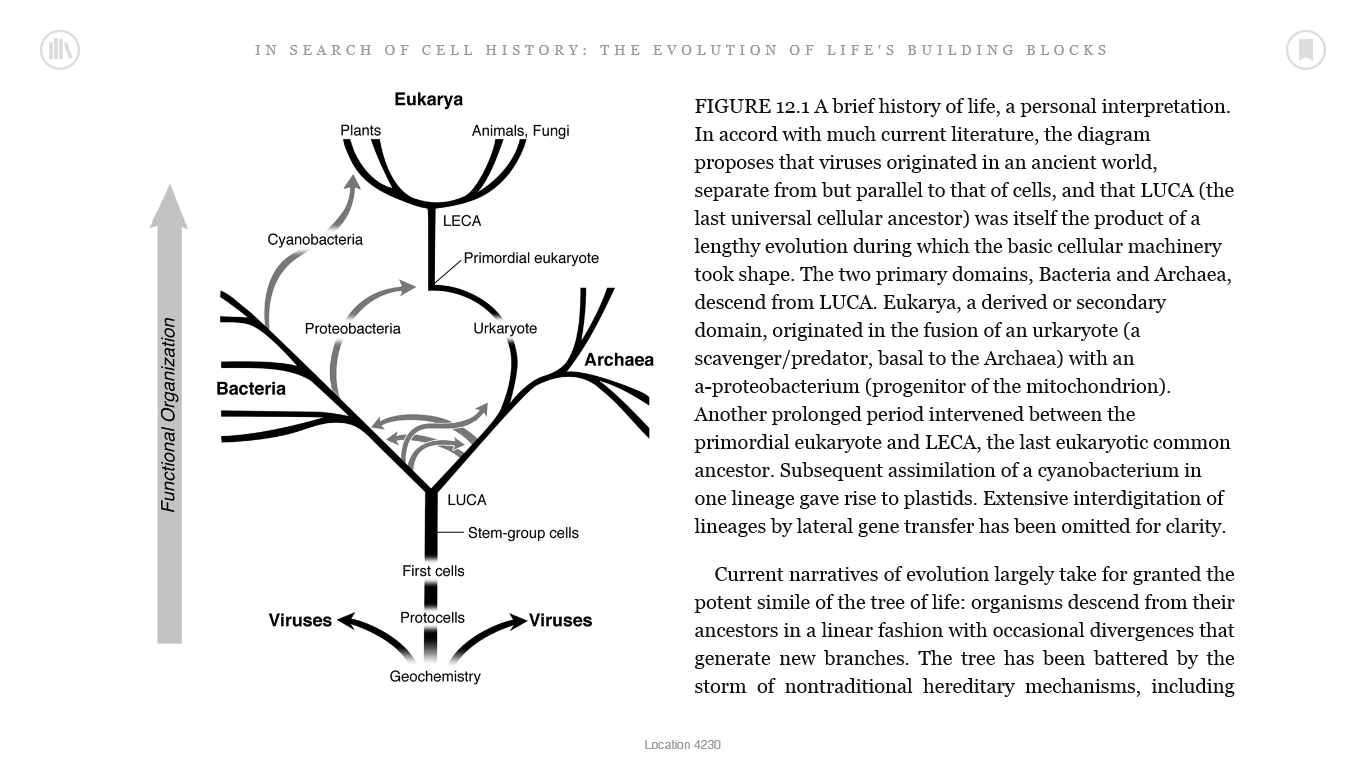 small resolution of in search of cell history the evolution of life s building blocks 2014 by franklin m harold