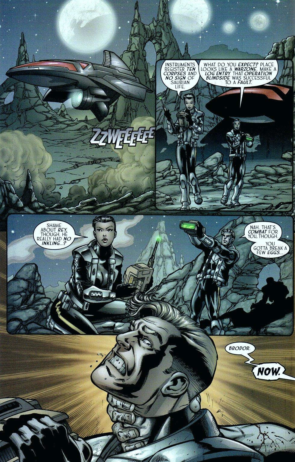 Read online Sigil (2000) comic -  Issue #15 - 14